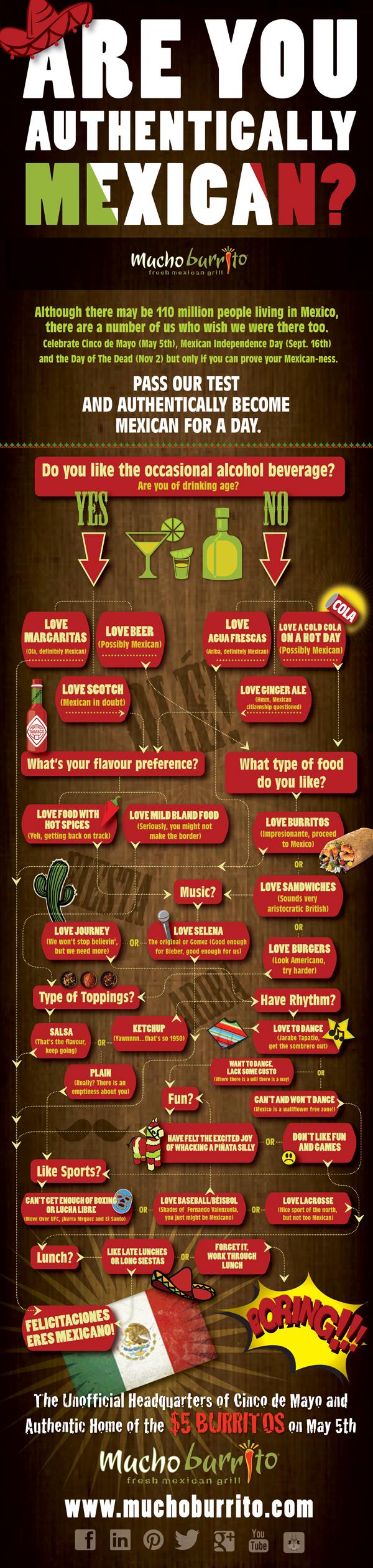 Mucho Burrito Infographics
