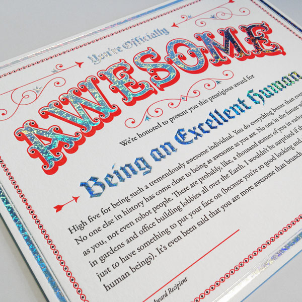 4.AwesomeCertificate