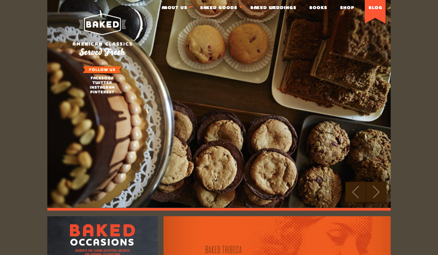 Baked Website