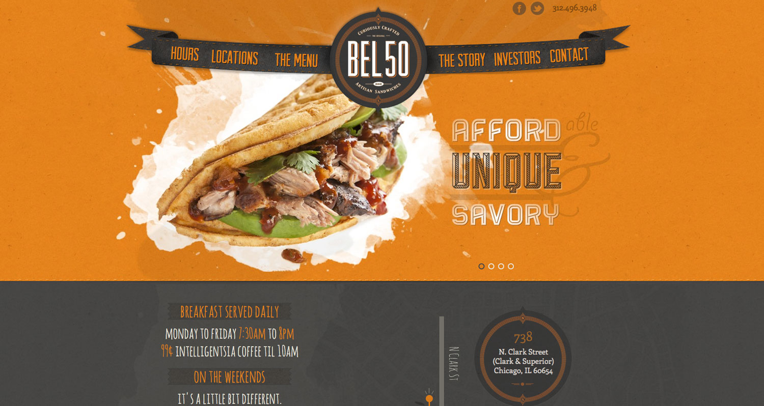 Bel 50 Website