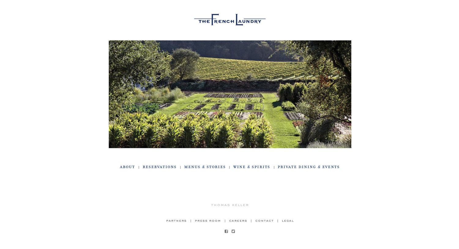 French Laundry Website