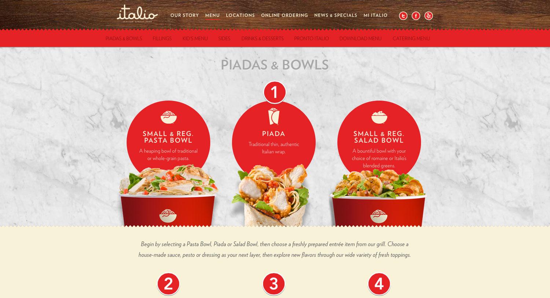 Italio Website