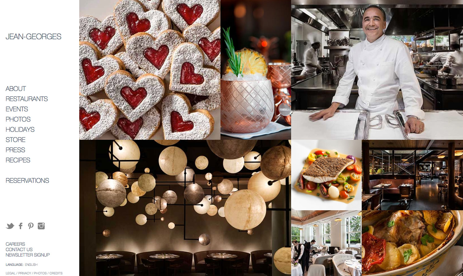 JeanGeorges Website