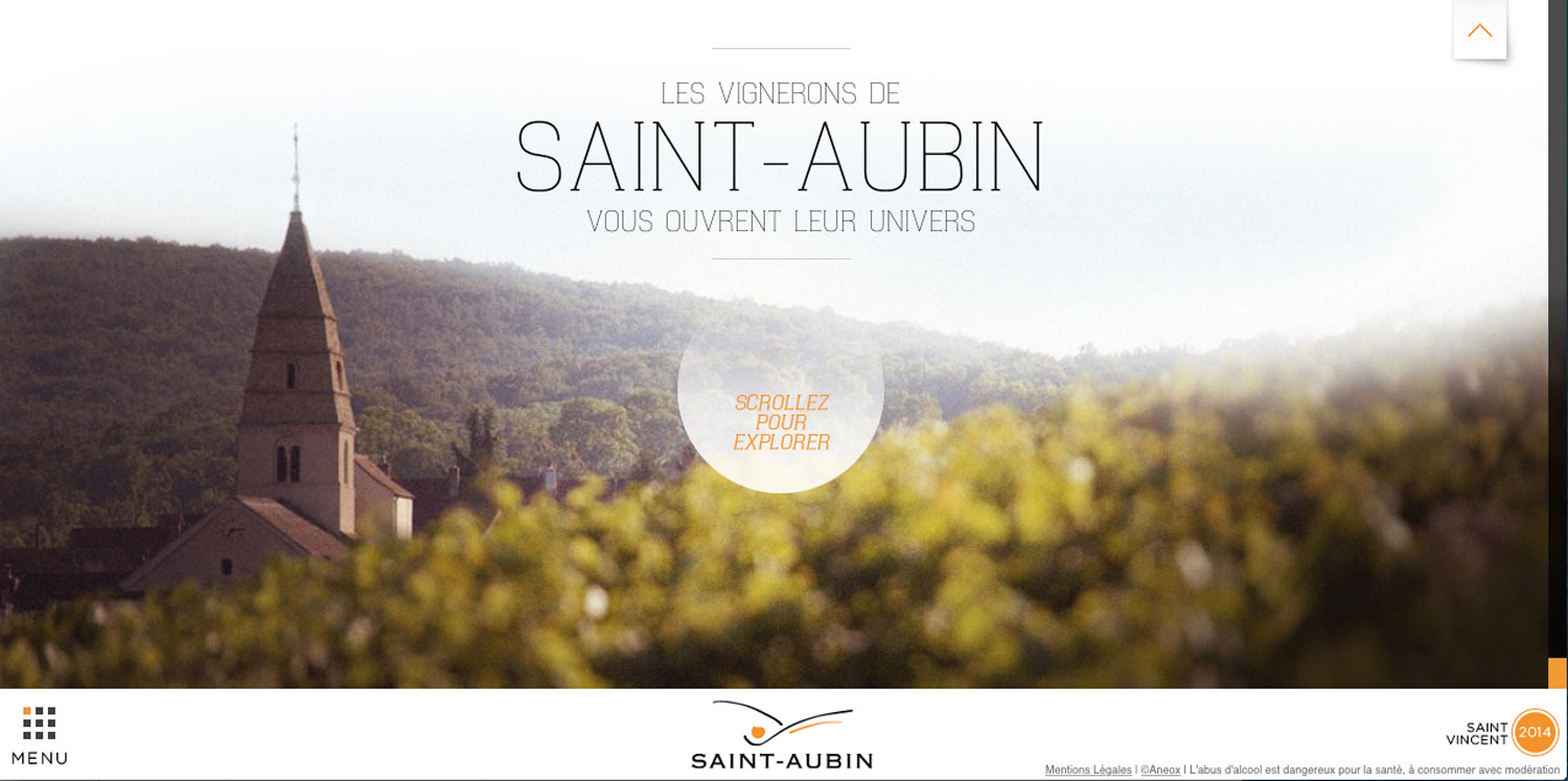 Saint Aubin Website