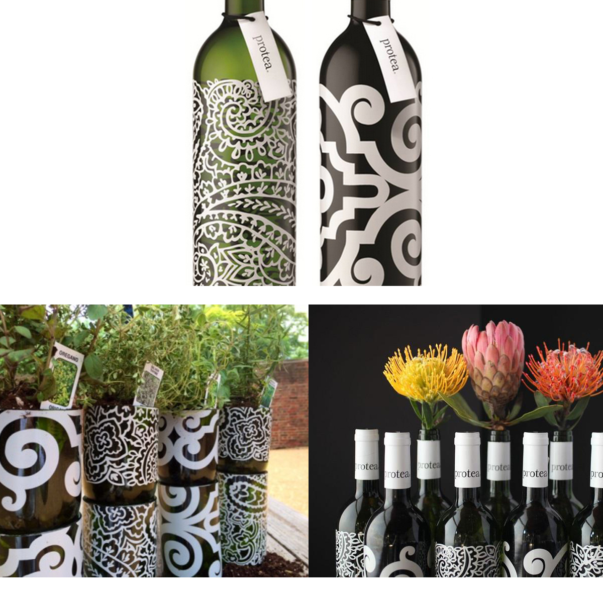 Reusable Wine Bottles by Protea
