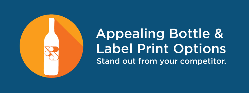 Appealing Bottle and Label Print Options