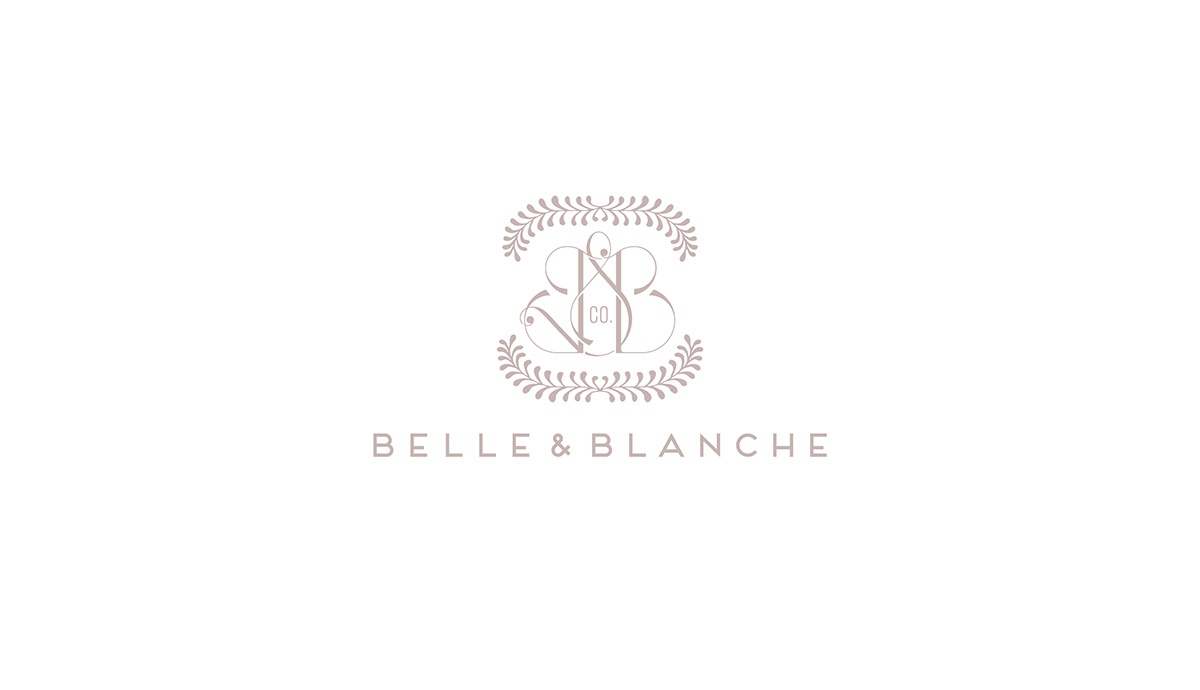 Belle & Blanche Identity
