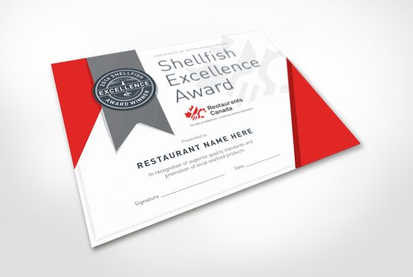 The Restaurants Canada Shellfish Excellence Award