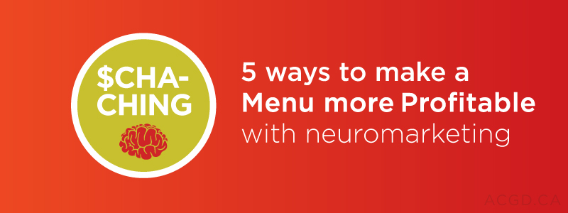 5 ways to make your menu profitable